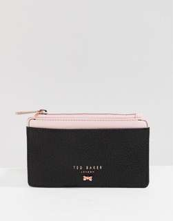 [預訂] Ted Baker Leather Zipped Card Holder