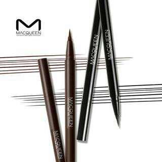 Macqueen waterproof eyeliner - brown
