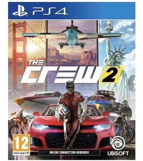 全新 PS4 飆酷車神2 The Crew 2 中英文版
