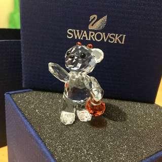 Swarovski 小熊物語-KRIS小熊水晶擺設