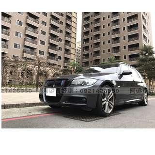 2008年-BMW-320d 五門休旅款-買車不是夢想.輕鬆低月付.歡迎加LINE.電(店)洽