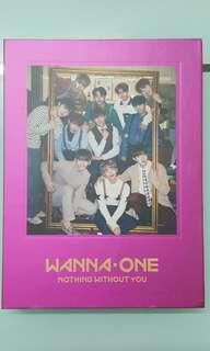 正版Wanna one<1-1=0[NOTHING WITHOUT YOU]>專輯