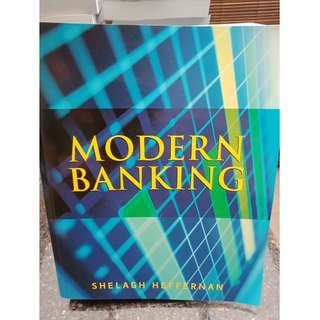 Used Modern Banking Textbook