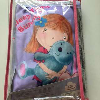 Cuddly pillow storybook