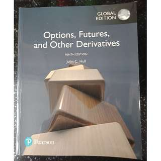 Used Options, Futures and Other Derivatives Textbook (9th Ed)