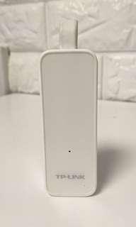 TP-Link UE-300 USB3.0 to Gigabit Ethernet。 請刹價高手及精明驗絲官莫問!
