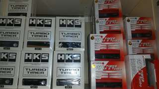 Hks and apexi turbo timer