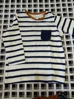 HnM baby STRIPE Tshirt
