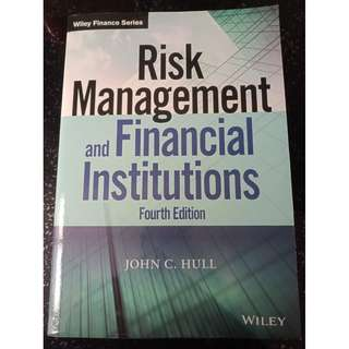 Used Risk Managment and Financial Institution (4th Ed)