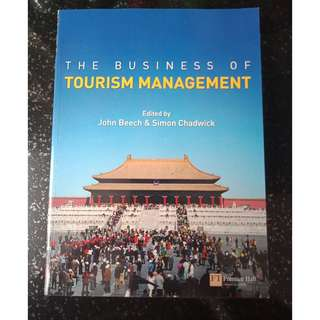 Used The Business of Tourism Management Textbook