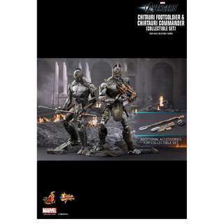Hot Toys MISB Chitauri Soldier Set MISB