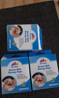 Breastmilk Storage Bags (Bubbles)
