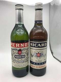 洋酒Liqueur(保樂、力加酒)2支70cl