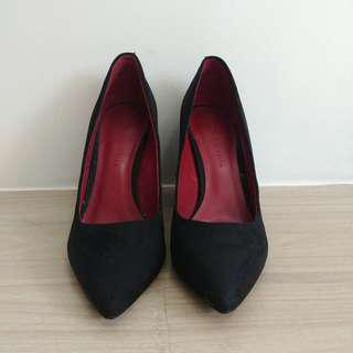 Charles and Keith Pointed Block Heels