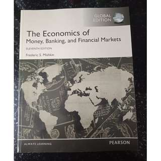Used The Economics of Money, Banking and Financial Markets Textbook (11th Ed)