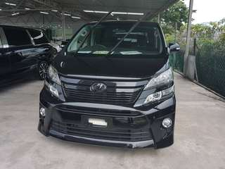 Toyota Vellfire 8seater Sunroof Moonroof