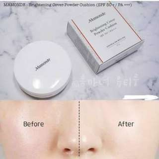 Mamonde Brightening Cover Powder Cushion SPF50++ / PA+++