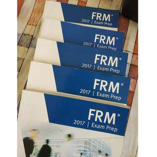 Financial Risk Manager (FRM) Level 1, Book 1,2,3,4, plus Mock Exam book, 2017