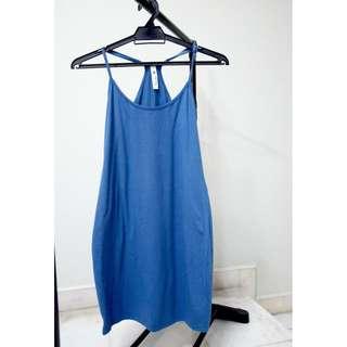 Kitschen Halter Blue Dress