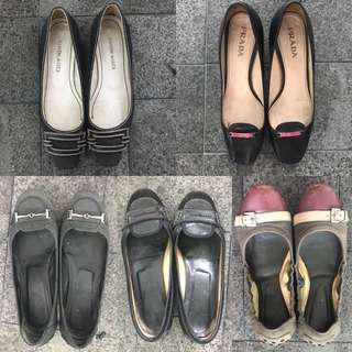 Prada, TODS, Claudia De Luca Ladies Shoes