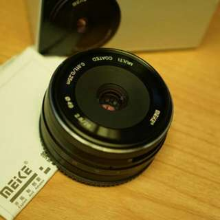 Meike 28mm f:2.8 APS-C untuk Sony Mirrorless (Manual focus)