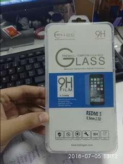 Xiaomi Redmi 5 tempered glass (Buy 1 Take 1)