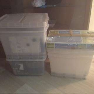 TOYOGO BOXES 4 PCS ( 15 SGD each )
