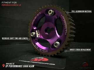 Cam Shaft Pulley HKS For Perodua Kancil L2 Purple color T7 Aluminium