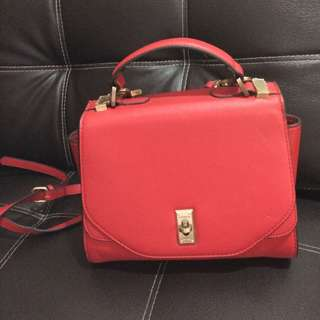 Fiorelli red sling bag