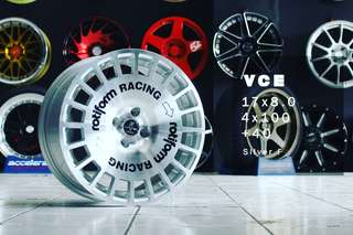 VCE RING 17X8.0 HOLE 4X100 ET40
