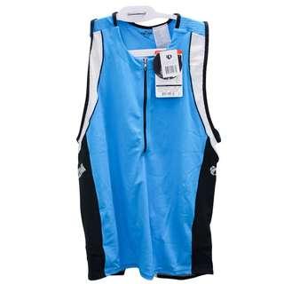 Cycling Gear Pearl Izumi Men's Tri Singlet ELITE Inrcool Blue Black XL / XXL New