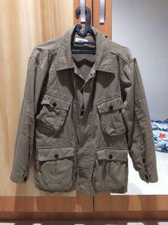 Elhaus Jungle Jacket Twill Olive