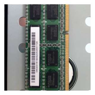 Laptop Ram 2gb  ddr3