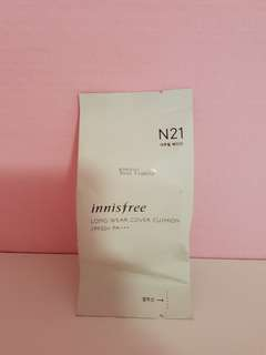 Innisfree Long Wear Cover Cushion N21 SPF50+ PA+++ (Refill)