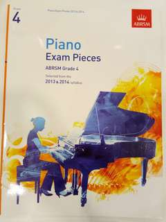 ABRSM Piano Exam Pieces 2013-2014 Grade 4 Book/Score (CLEARANCE!!)