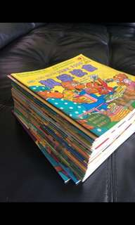 Berenstain bear 30 books bilingual