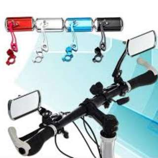 GrabMee Bicycle rear view mirror/Electric bicycle mountain bike electric mirror/bike riding reflector handlebar side mirror accessories