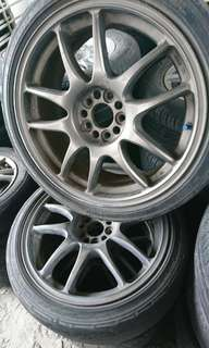 SPORT RIM 17 INCH WORK EMOTION CR KAI ORIGINAL JAPAN