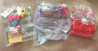 🚚 麥當勞 Hello Kitty 玩具 三款一組 全新