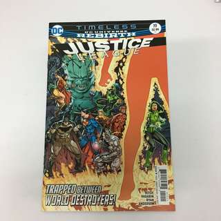 DCU Rebirth Justice League 19 Comics Book Superman Batman Movie