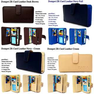 Dompet Lipat  ZR Card Leather