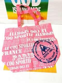 le coq sportif 公雞牌環保袋