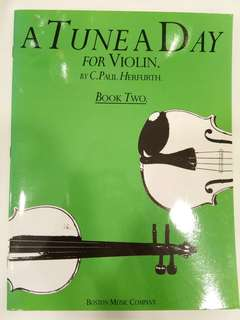 Hal Leonard- A Tune A Day for Violin Book Two Book/Score (CLEARANCE!!)