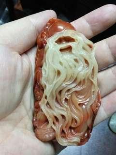 極品 壽山石 雕刻 靚工