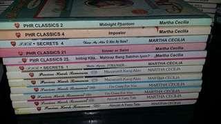 PHR- Martha Cecilia books