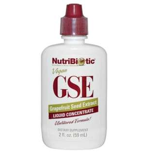 🚚 NutriBiotic - Grapefruit Seed Extract GSE Liquid Concentrate 2 fl oz (59 ml)