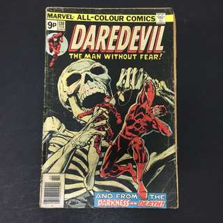 Daredevil 130 Marvel Comics Book Stan Lee Movie Avengers Defenders