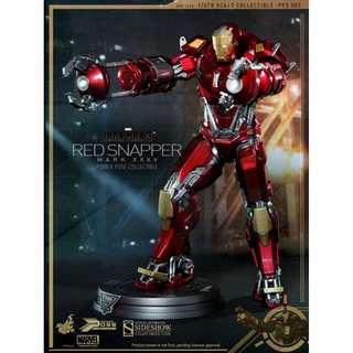 Hot Toys Powerpose MISB Red Snapper Normal Edition