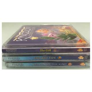 3 X VCD - 3 ANIMATED CHRISTIAN KINGDOM STORIES