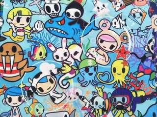 (PO) tokidoki inspire  fabric